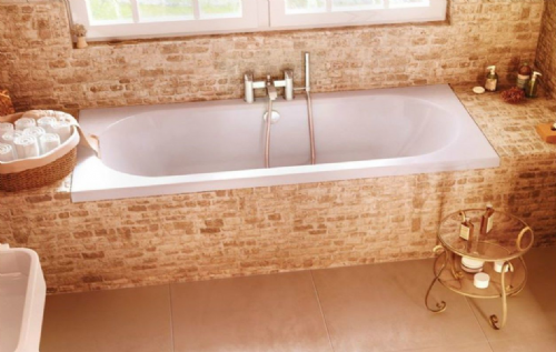 Cleargreen Verde Double Ended Bath 1700mm x 750mm